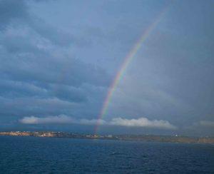 The Sky and rainbows